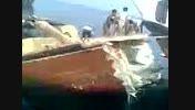 لنچ غرق شده -سواحل خلیج فارس