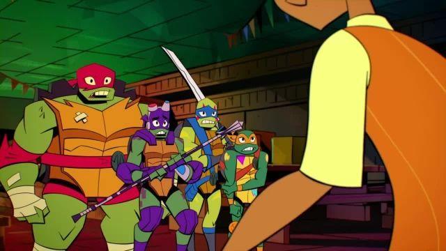 دانلود کارتون خیزش لاک پشت های نینجا 2019 (Teenage Mutant Ninja Turtles) قسمت 4