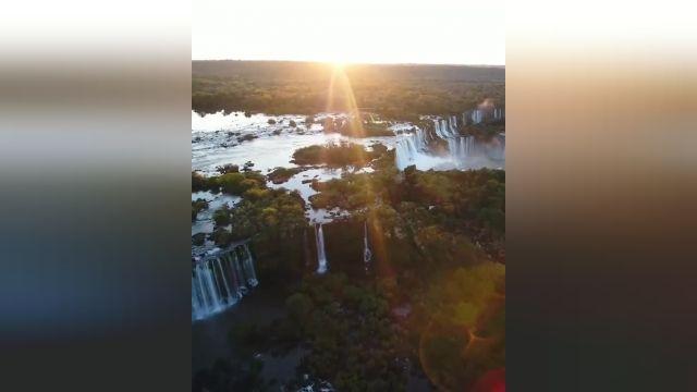 آبشار دیدنی آگواسو