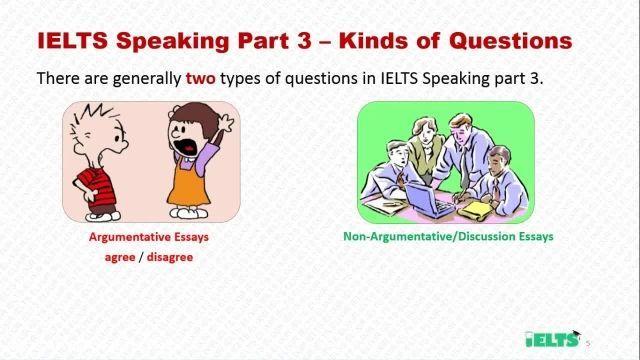 دانلود رایگان دوره کامل آموزش IELTS - اسپیکینگ - سوالات اسپیکینگ