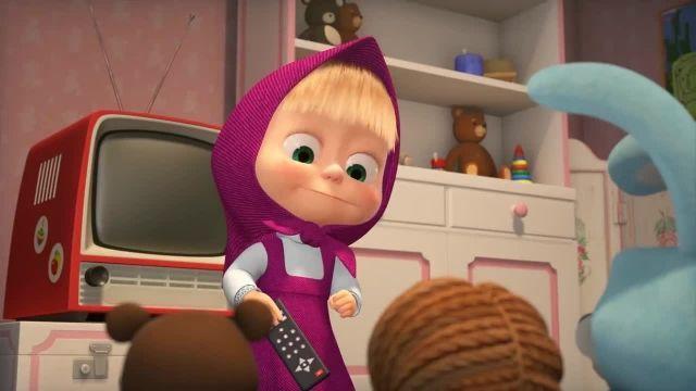 دانلود انیمیشن ماشا و میشا - قسمت 541