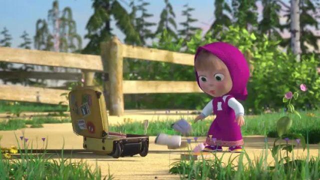 دانلود انیمیشن ماشا و میشا -  قسمت 640