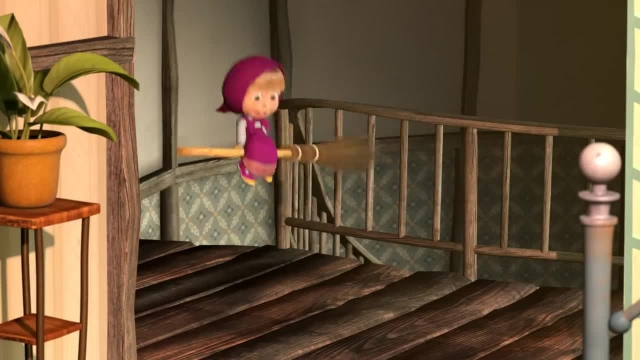 دانلود انیمیشن ماشا و میشا - قسمت 477