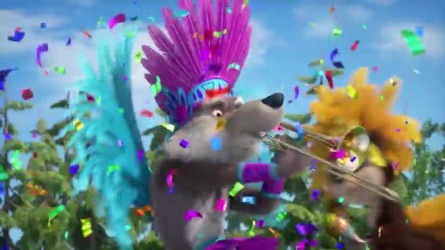 دانلود انیمیشن ماشا و آقا خرسه   جشن و شادی ماشا و حیوانات جنگل