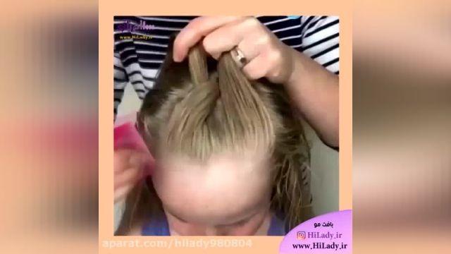آموزش بافت زیبای مو