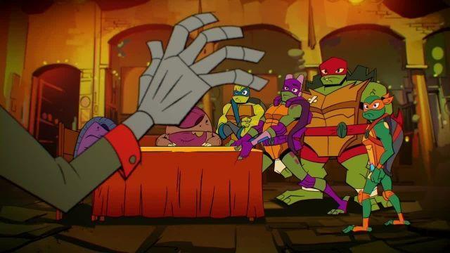 دانلود کارتون خیزش لاک پشت های نینجا 2019 (Teenage Mutant Ninja Turtles) قسمت 8