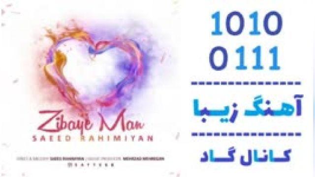 دانلود آهنگ زیبای من از  سعید رحیمیان