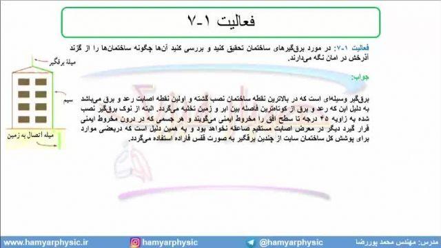 جلسه 66 فیزیک یازدهم - توزیع بار الکتریکی در رسانا 2 - مدرس محمد پوررضا