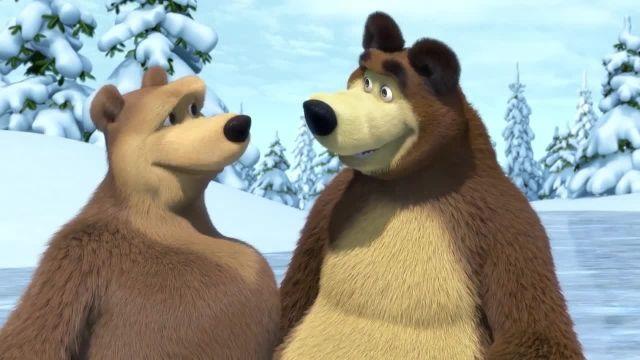 دانلود انیمیشن ماشا و میشا - قسمت 451