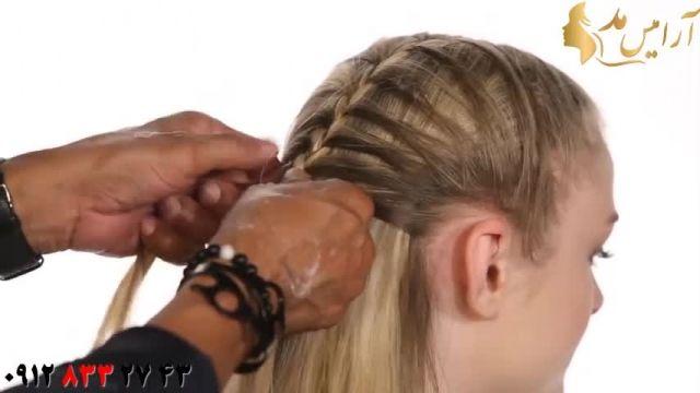 فیلم آموزش مدل جدید بافت مو + مدل مو باز