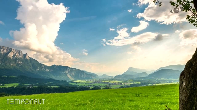 دانلود تایم لِپس (Timelapse) - دشت سبز اتریش
