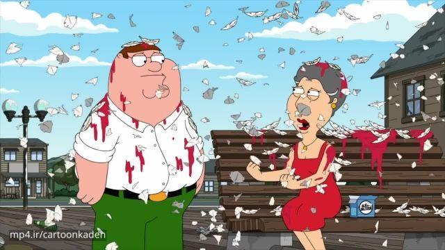 دانلود کامل کارتون Family Guy (مرد خانواده) فصل 18 قسمت 3
