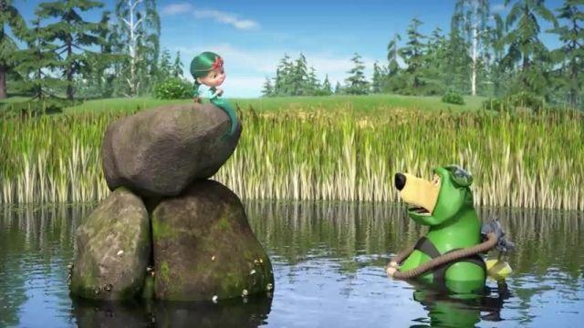 دانلود انیمیشن ماشا و میشا -  قسمت 634