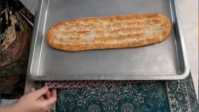 دستور تهیه نان بربری با روش اسان در خانه