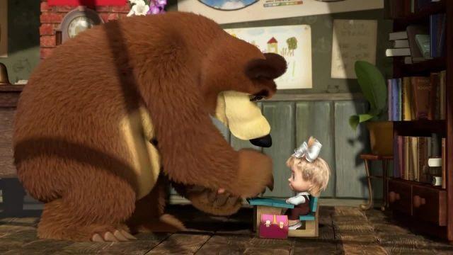 دانلود انیمیشن ماشا و میشا - قسمت 464