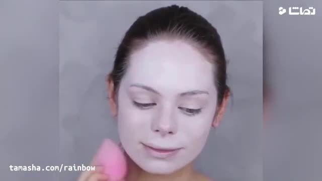 آموزش آرایش هالوین به صورت (زخم و خونریزی)