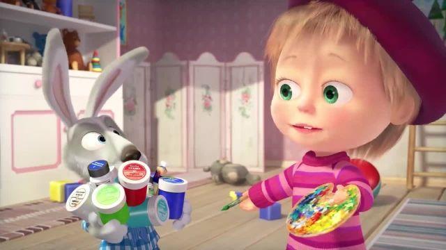 دانلود انیمیشن ماشا و آقا خرسه | ماجرای فرشته کوچولو