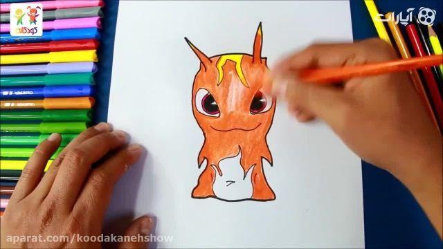 دانلود آموزش نقاشی کودکانه با زبان فارسی - بورپی بازیگوش
