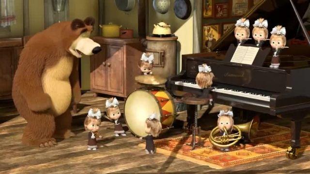 دانلود انیمیشن ماشا و آقا خرسه | قسمت 680