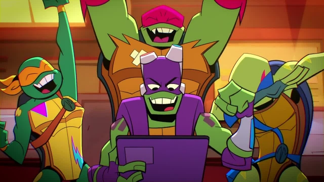 دانلود کارتون خیزش لاک پشت های نینجا 2019(Teenage Mutant Ninja Turtles) قسمت 13