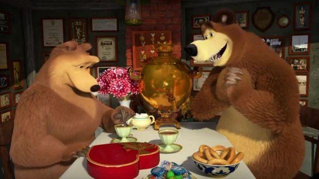 دانلود انیمیشن ماشا و میشا -  قسمت 648