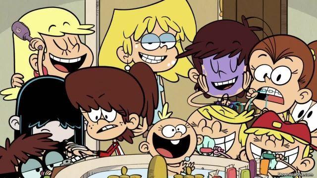 دانلود کارتون خانه پر سر و صدا فصل اول قسمت شانزده
