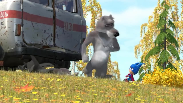 دانلود انیمیشن ماشا و میشا - قسمت 513