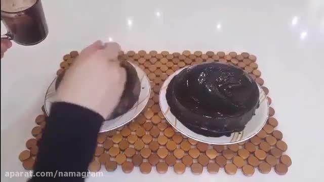 بهترین روش  پخت کیک خیس شکلاتی (دستور ساده)