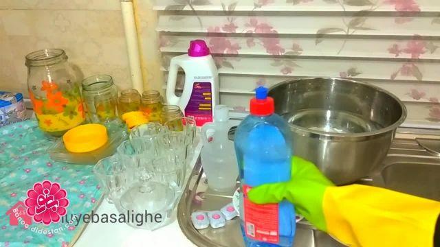 نکات خانه تکانی عید - تمیز کردن بلورها و کریستال ها