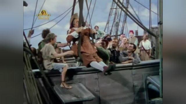 دزدان هفت دریا مهاجمان هفت دریایی   Raiders of the Seven Seas 1953 دوبله