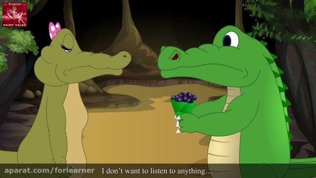 دانلود آموزش زبان انگلیسی به کودکان با کارتون -میمون و تمساح