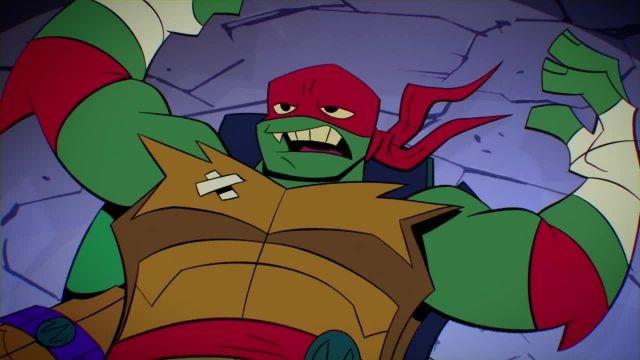دانلود کارتون خیزش لاک پشت های نینجا 2019 (Teenage Mutant Ninja Turtles) قسمت 12