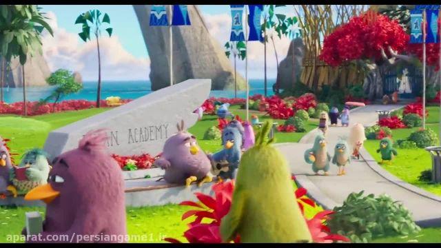 دانلود تریلر انیمیشن پرنده های خشمگین 2 (THE ANGRY BIRDS 2)