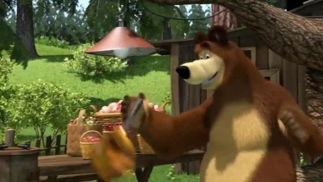 دانلود انیمیشن ماشا و آقا خرسه | قسمت 681