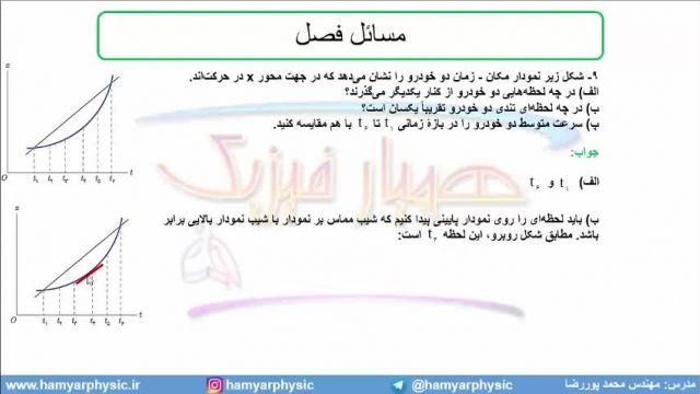 جلسه 33 فیزیک نظام قدیم - حرکت شناسی 11 - مدرس محمد پوررضا
