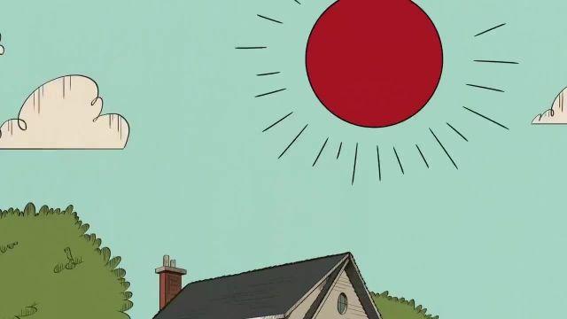 دانلود کارتون خانه پر سر و صدا فصل دوم قسمت سی و چهار