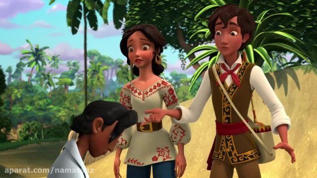 دانلود انیمیشن النا با زیرنویس چسبیده فارسی فصل اول قسمت 4