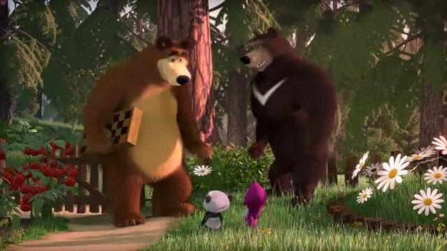 دانلود انیمیشن ماشا و آقا خرسه | ماشا و آقا خرسه 8