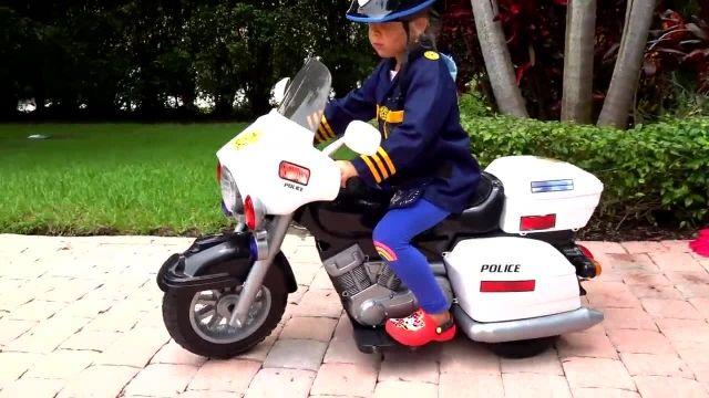 سری جدید برنامه کودک دیانا و روما - وانمود به پلیس بودن