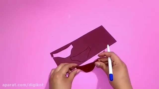 فیلم آموزش ایده های خلاقانه برای ساخت لوازم باربی: کیف کمری، عینک و سربند