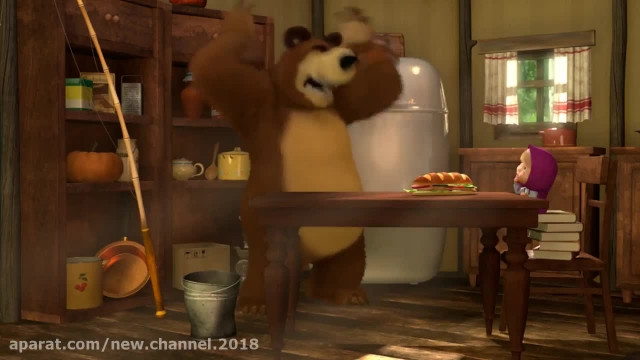 دانلود انیمیشن ماشا و میشا - قسمت 154