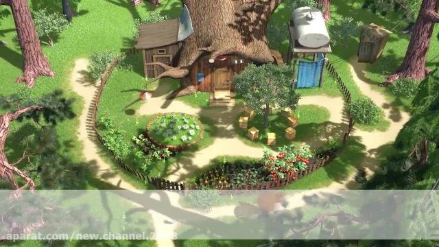 دانلود انیمیشن ماشا و میشا - قسمت 244