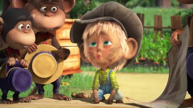 دانلود انیمیشن ماشا و آقا خرسه | مهمان ناخوانده