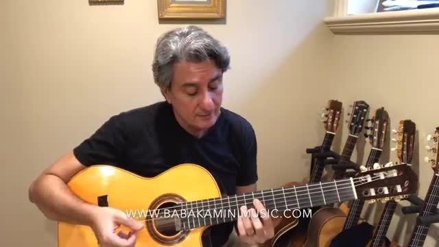 دانلود کامل آموزش گیتار بابک امینی جلسه نود و یک