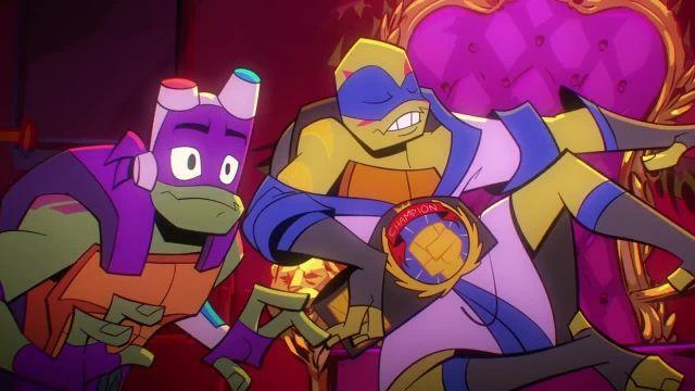 دانلود کارتون خیزش لاک پشت های نینجا 2019 (Teenage Mutant Ninja Turtles) قسمت 10