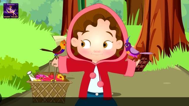 برنامه کودک داستان های فارسی با زیرنویس انگلیسی این قسمت: کمی هود سواری قرمز