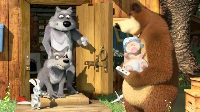 دانلود انیمیشن ماشا و آقا خرسه | ماجرای دوستی شیر و ماشا