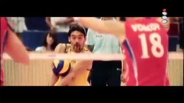اسپک های فوق العاده از جیبا(بهترین والیبالیست جهان)