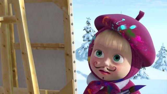 دانلود انیمیشن ماشا و میشا - قسمت 445