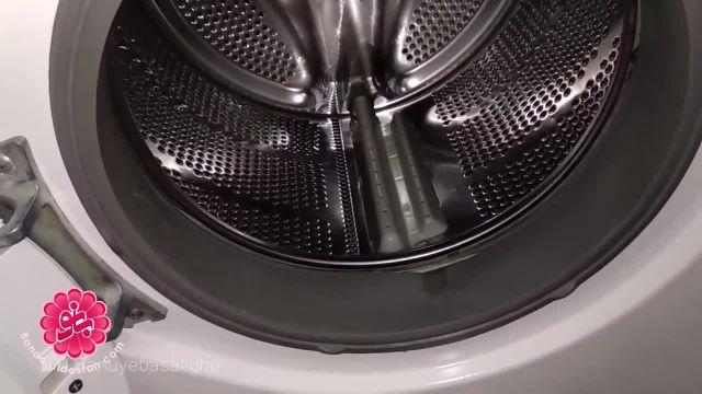خانه تکانی عید آشپزخانه - تمیز کردن لباسشویی